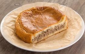 Пирог сдобный с фаршем (свинина+курица) - Фото
