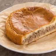 Пирог сдобный с фаршем (свинина+курица) Фото