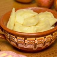 Вареники с картофелем и жареным лучком Фото
