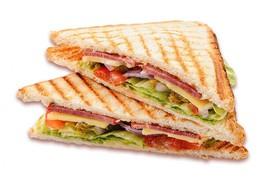 Клаб-сэндвич с ветчиной - Фото
