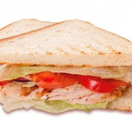 Клаб-сэндвич с курицей Фото