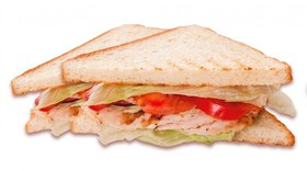 Клаб-сэндвич с курицей - Фото
