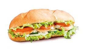 Сэндвич с лососем - Фото