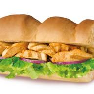 Сэндвич с наггетсами Фото