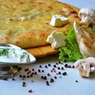 Пирог с индейкой, грибами и сыром Фото
