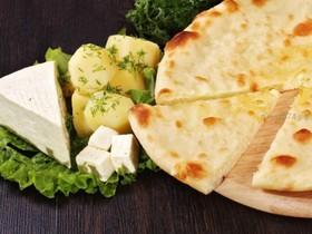 Пирог с картофелем и сыром - Фото