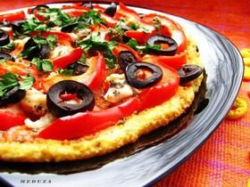 Пицца с курицей - Фото