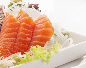 Сашими с лососем - Фото