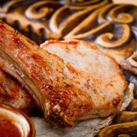 Шашлык из корейки на кости Фото