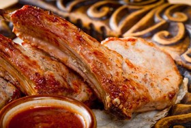 Шашлык из корейки на кости - Фото