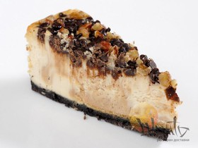 Чизкейк с шоколадной крошкой - Фото