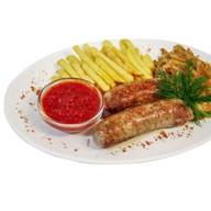 Острые колбаски со свининой Фото