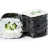 Хосомаки с сыром и огурцом Фото