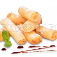 Тайские сладкие блинчики Фото