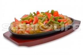 Овощи в соусе тонкацу - Фото