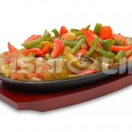 Овощи в соусе тонкацу Фото