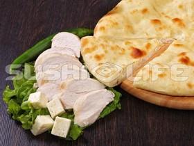 Осетинский с курочкой и сыром - Фото