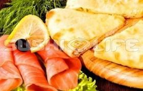 Осетинский с сыром и горбушей - Фото