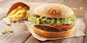 Beef бургер - Фото