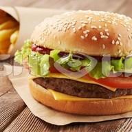 Beef бургер Фото