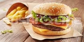 BBQ бургер - Фото