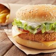 Chiken бургер Фото