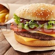 Small BBQ бургер Фото