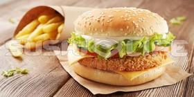 Small Chiken бургер - Фото