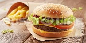 Small Beef бургер - Фото