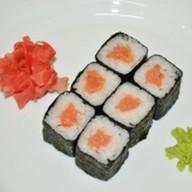 Хосомаки с копченым лососем Фото