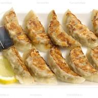Гедза с лососем Фото