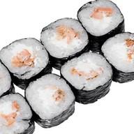 Чизмак с жареным лососем Фото