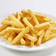 Картофель фри с красным соусом Фото