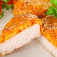 Свинина в сырной шубке Фото