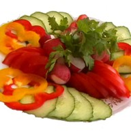 Овощная трапеза Фото