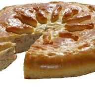 Пирог с горбушей из слоеного теста Фото