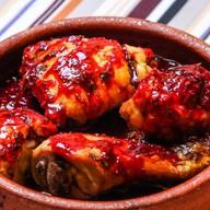 Цыпленок в ежевичном соусе Фото