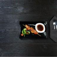 Шашлычок из курицы с соусом терияки Фото