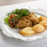 Казан-кебаб с курицей Фото