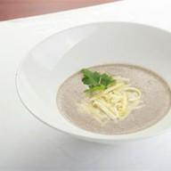 Крем-суп из лесных грибов Фото