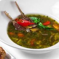Острый суп с бараниной от шеф-повара Фото