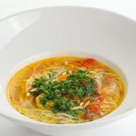 Традиционный куриный суп Фото