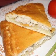 Пирог с курой и картофелем Фото