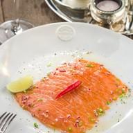Севиче-ломтики лосося Фото