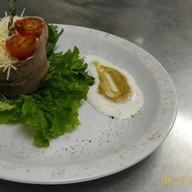 Салат из авокадо с языком Фото