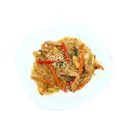 Фунчоза с курицей в соусе терияки Фото