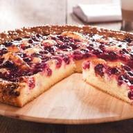 Пудинговый пирог с вишней Фото