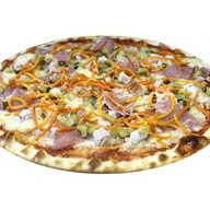 Пицца с морковкой по-корейски Фото