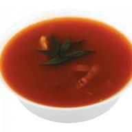 Суп острый с курицей Фото
