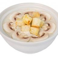 Суп-крем из шампиньонов Фото